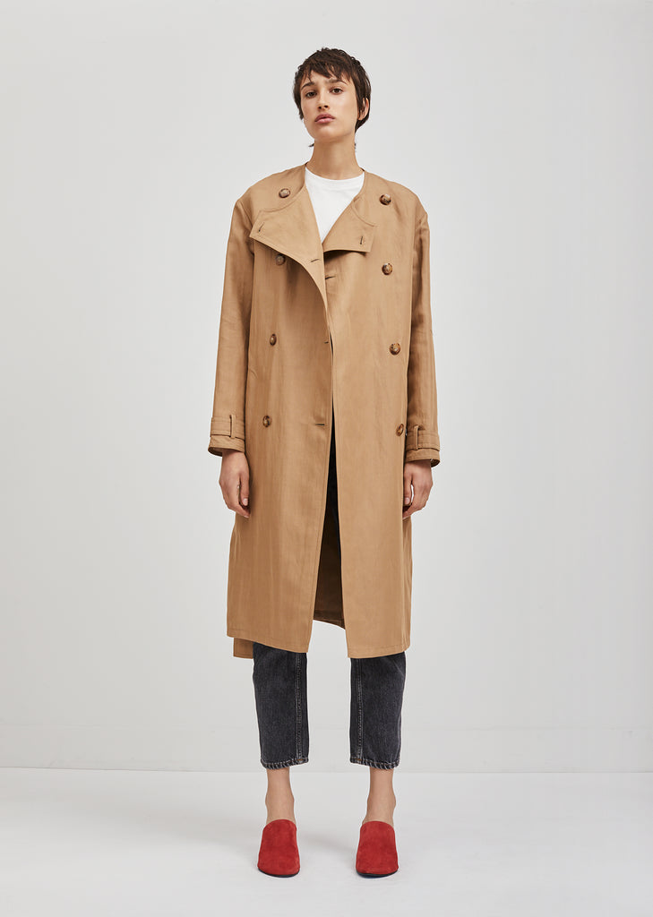 Angelica Gab Trench Coat
