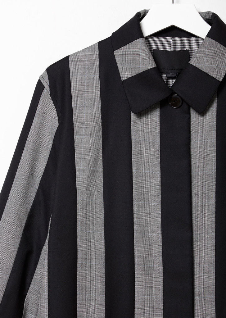 Wool Striped Coat