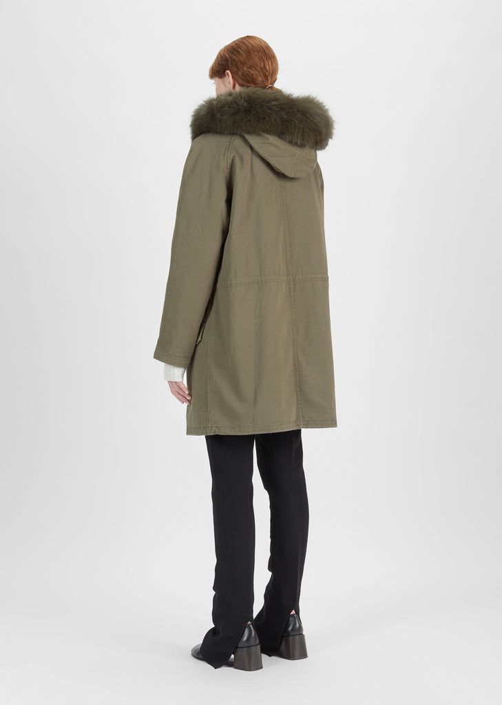 Cotton Rabbit Fur Jacket
