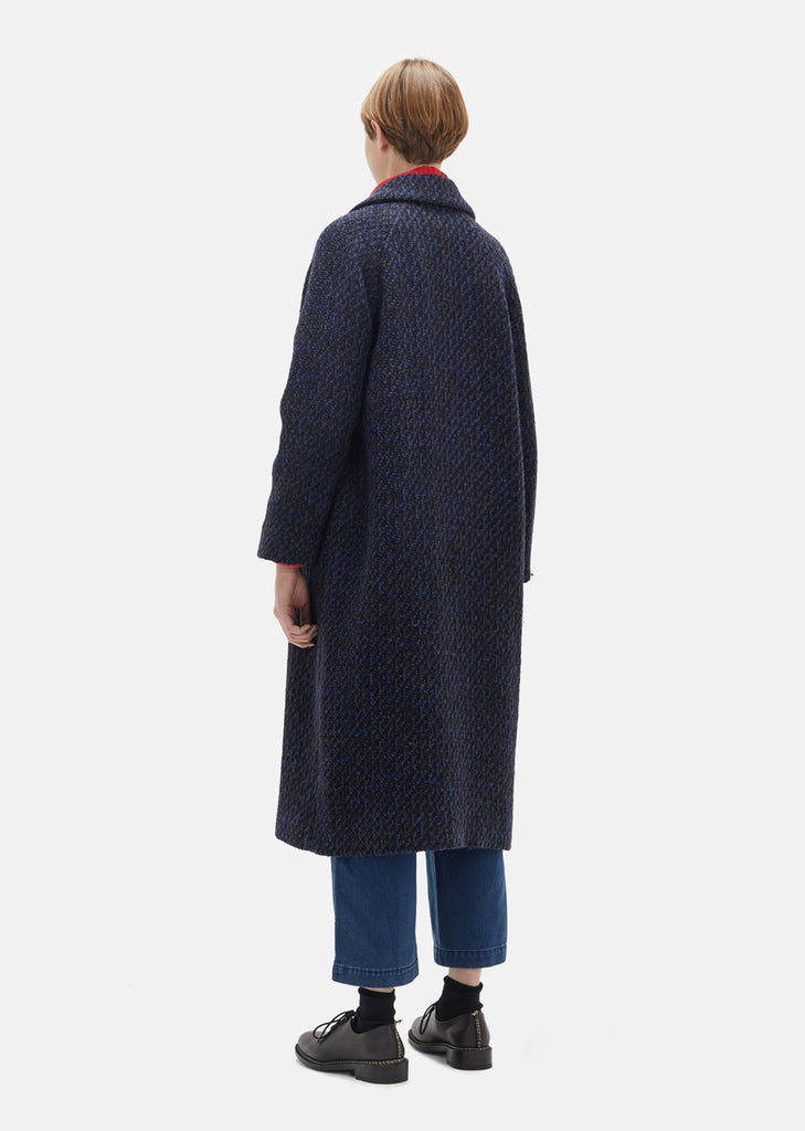 Wool Double Breasted Coat