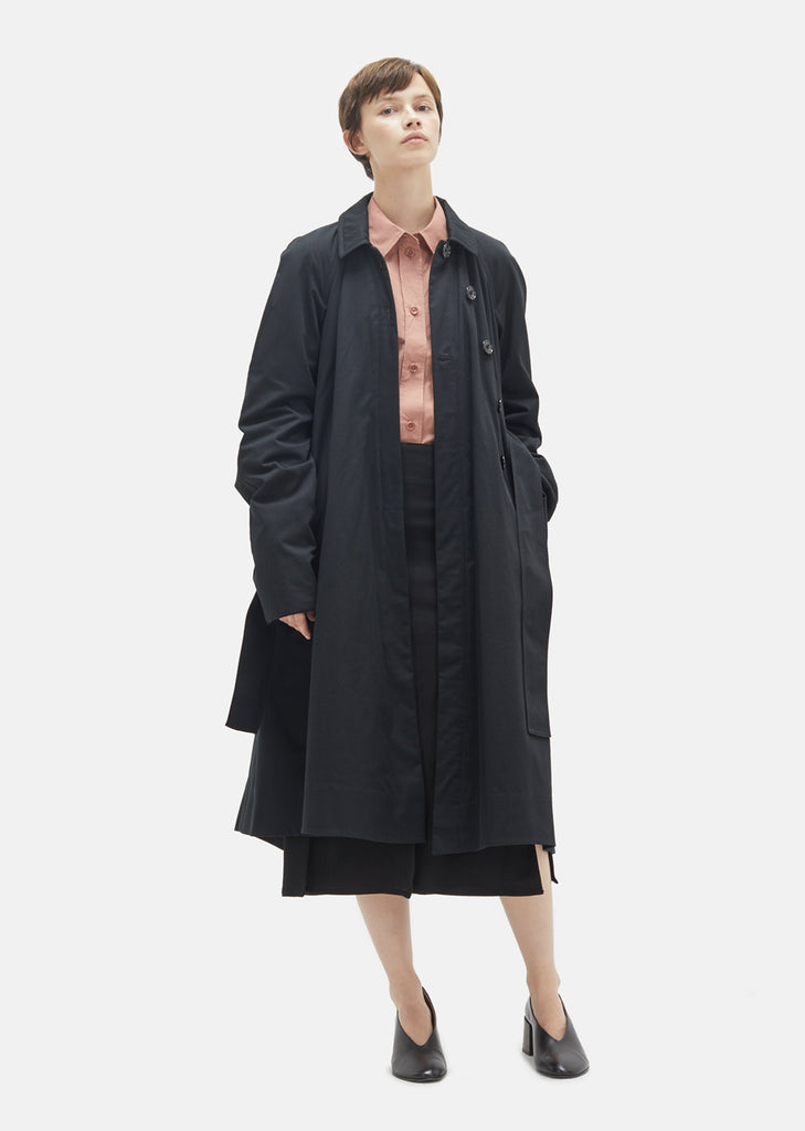 Light Cotton Twill Wadded Coat