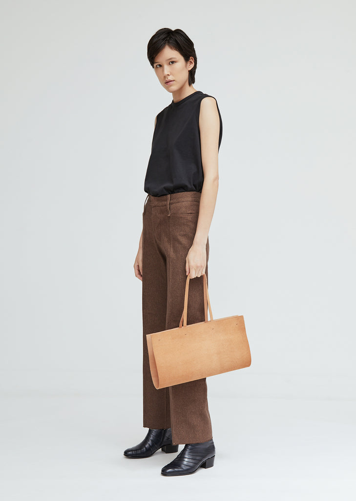 Vegetable Tanned Leather Bag