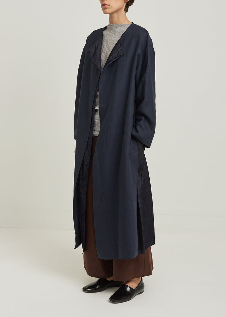 Sesterzio Double Layer Trench Coat