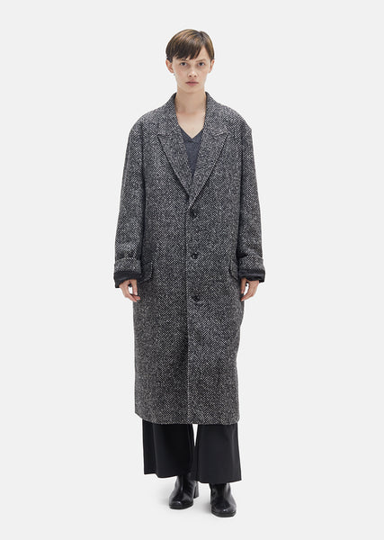 Area Melange Wool Coat