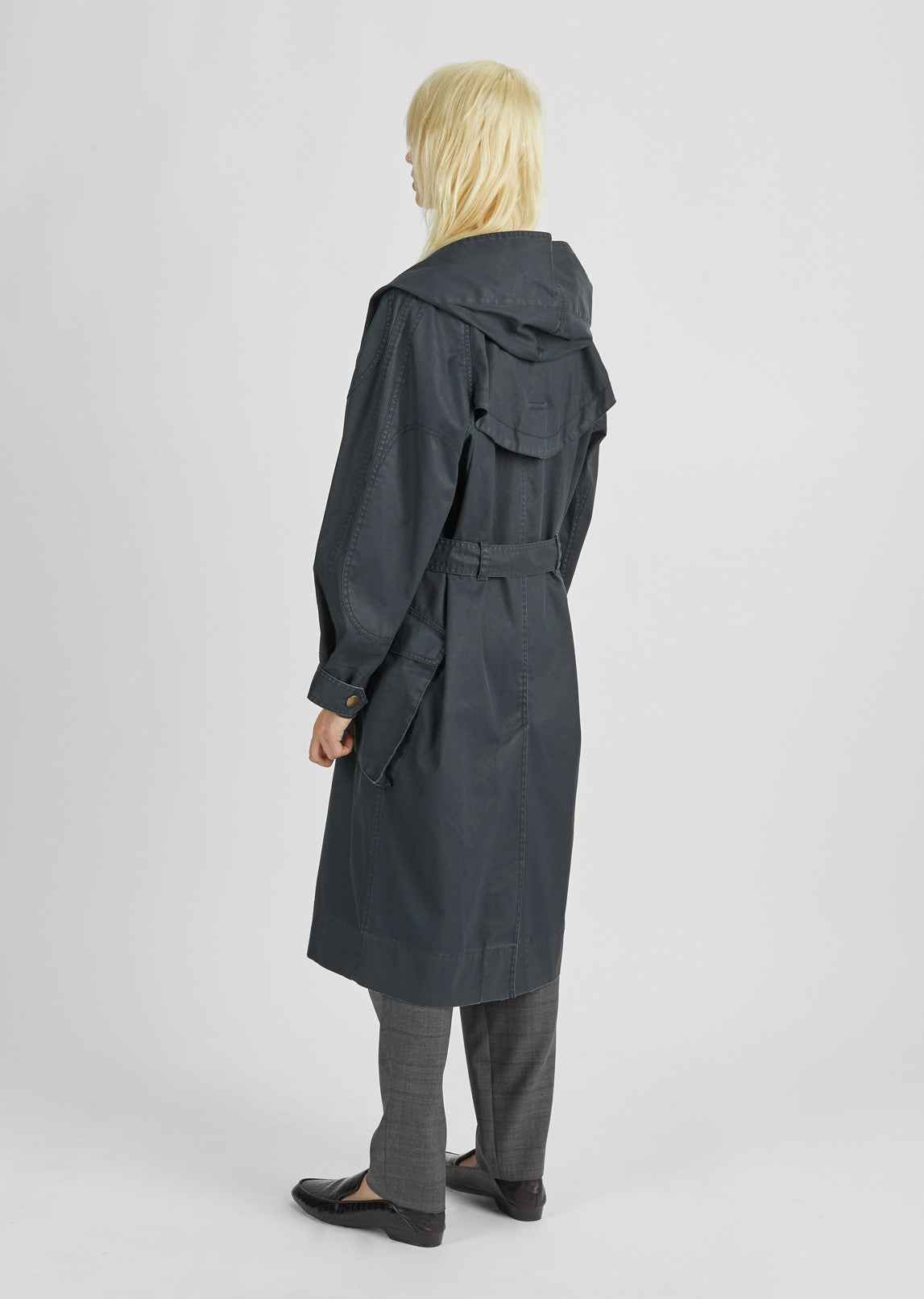 Donato Hooded Trench Coat