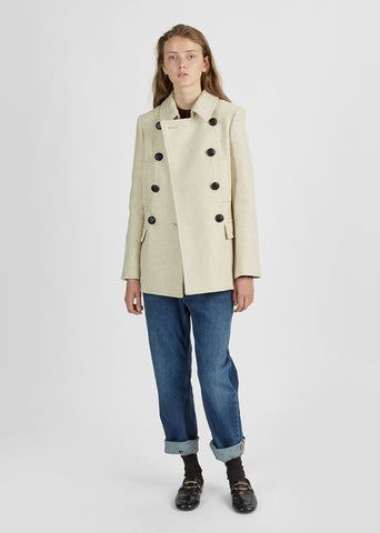 Floffy Caban Coat