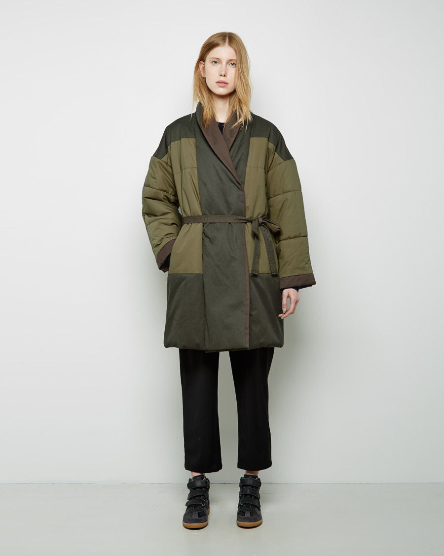 Flor Quilted Coat