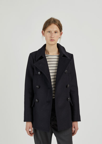 Floffy Short Caban Coat