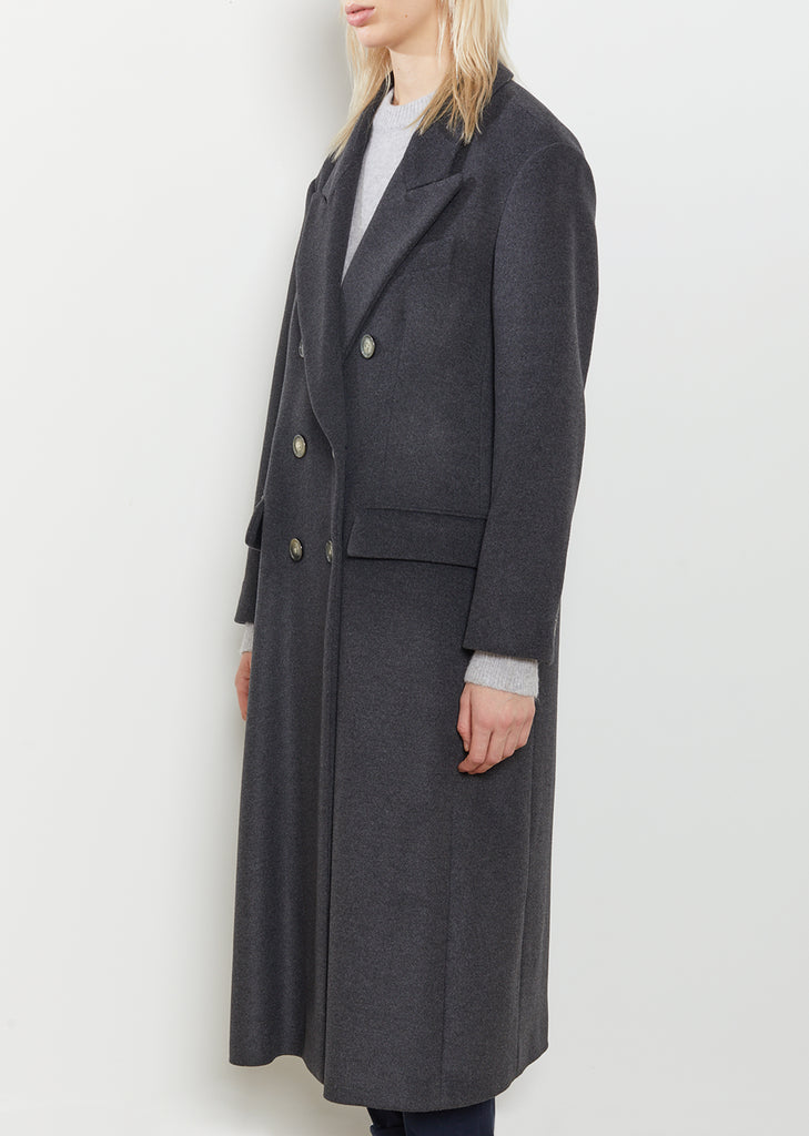 Dajo Double Breasted Wool Coat