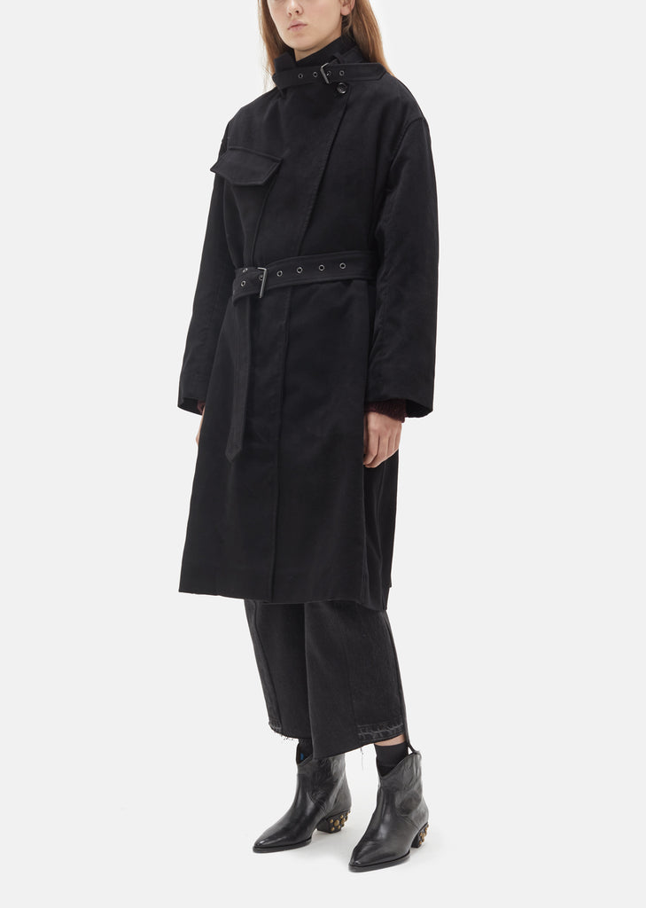 Paul High Collar Trench Coat
