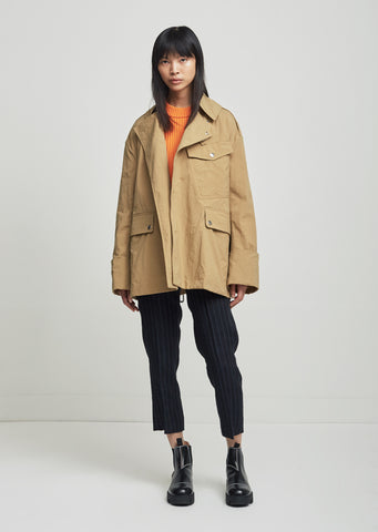 Lorenzo Short Trench Coat