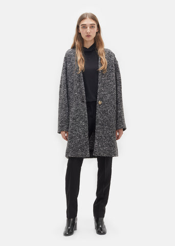 Osbert Round Shoulder Coat
