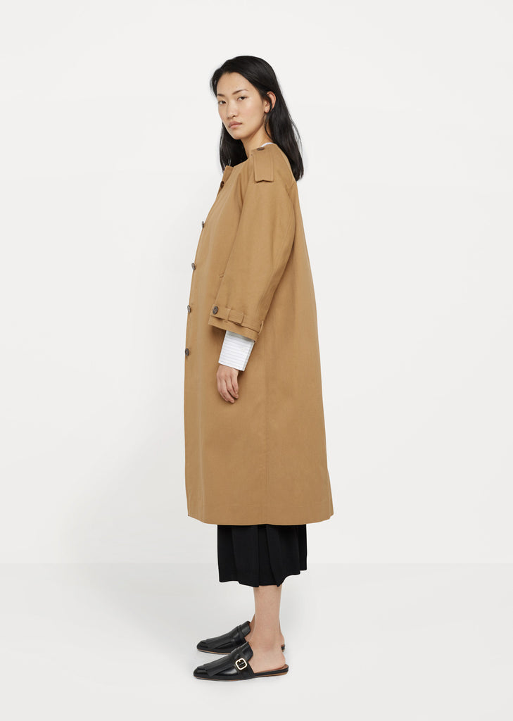 Clacson Round Neck Coat