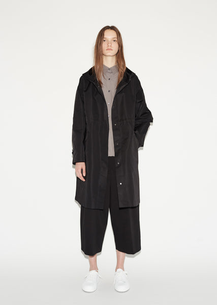 Copyright Oversized Parka