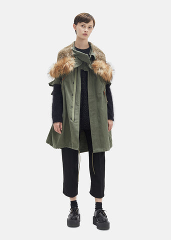 Cotton German Cord Parka