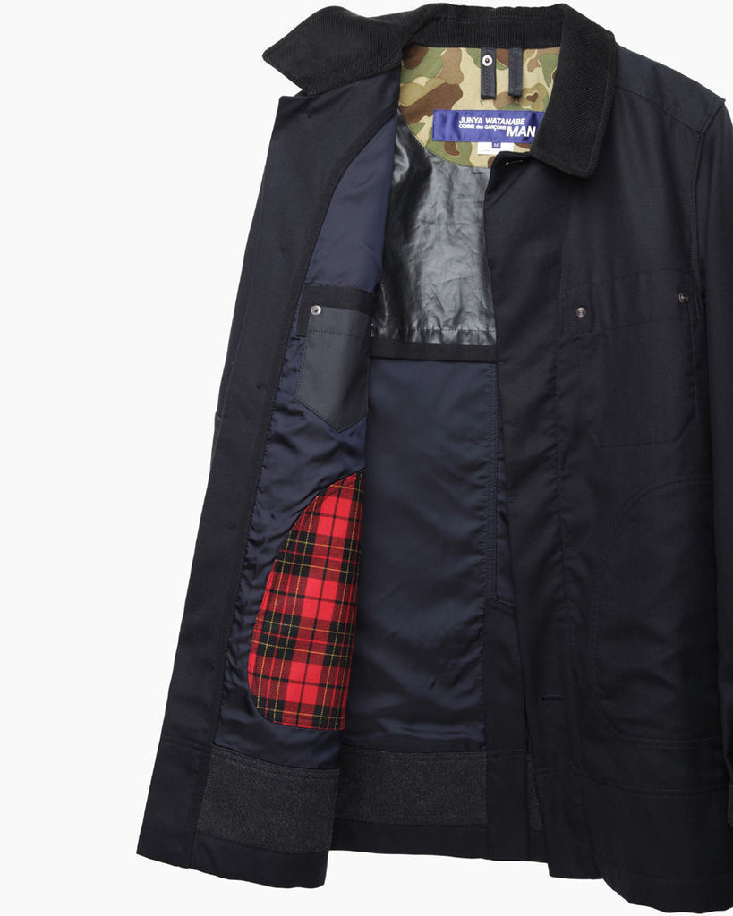 Wool Workwear Coat
