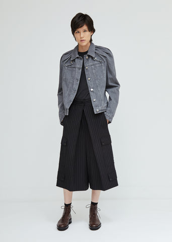 Floating Sleeve Denim Jacket
