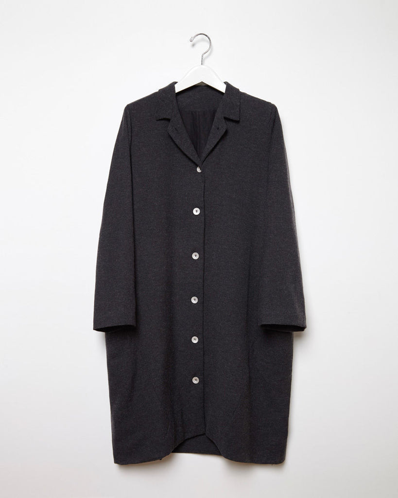 Manteau Col Gar‡on