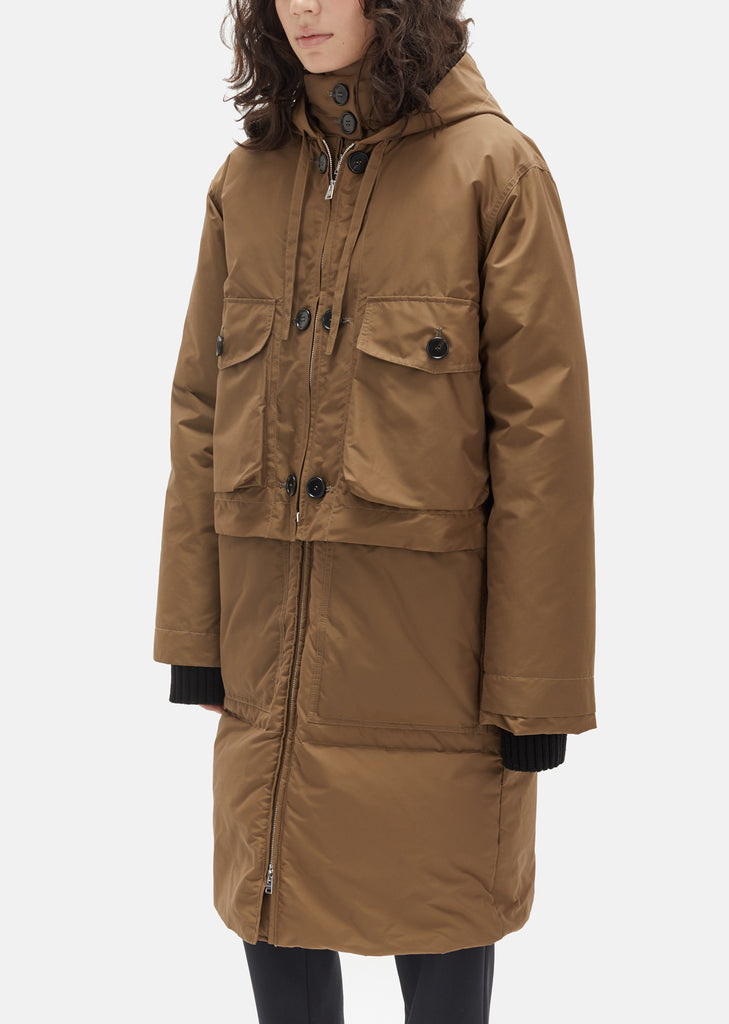 Cotton Nylon Padded Jacket