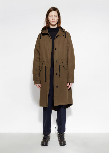 MHL by Margaret Howell Fishtail Parka La Garconne