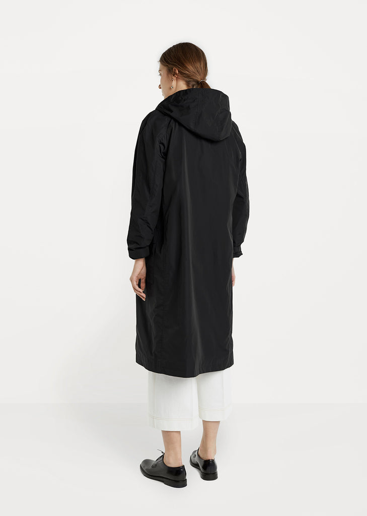 Hooded Nylon Trench