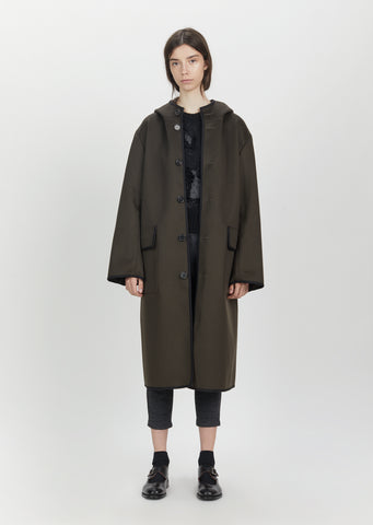 Hooded Water Repellent Coat