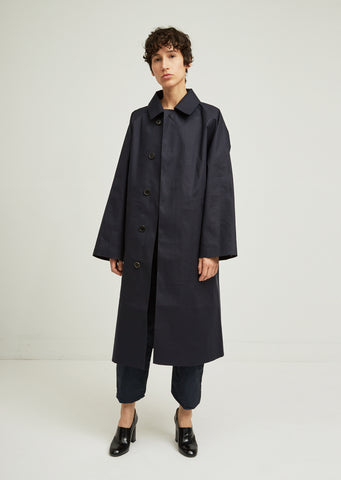 Rubberized Trench Coat