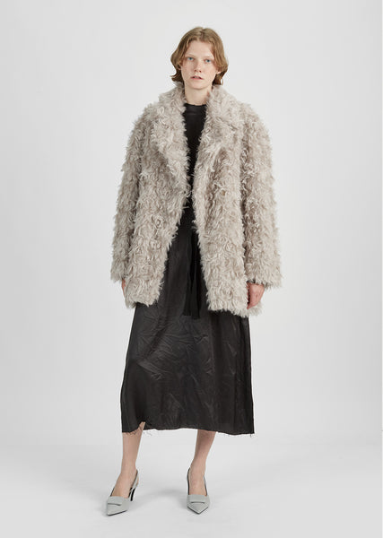 Mohair Fur Jacket