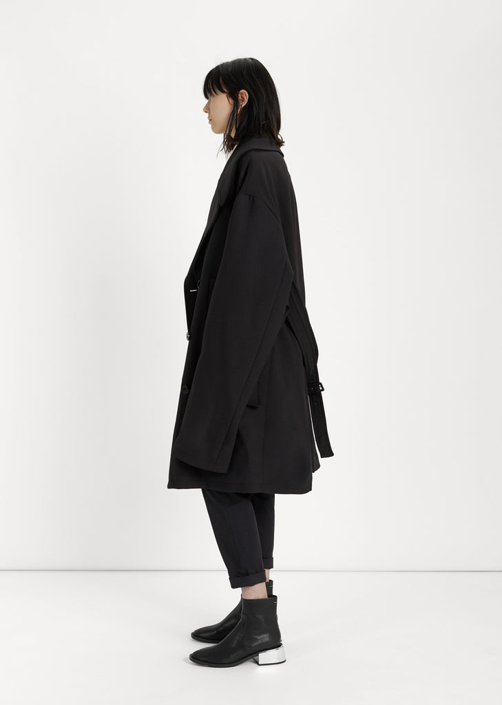 Bonded Wool Coat