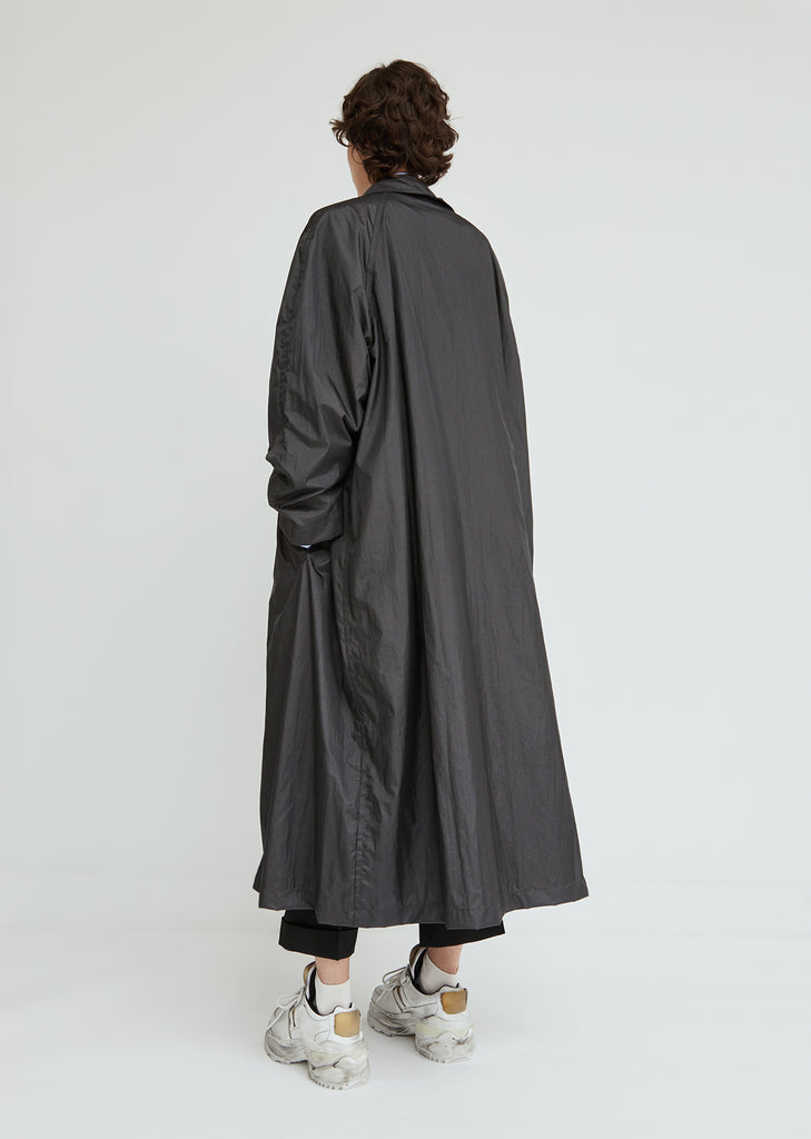 Techno Taffeta Coat