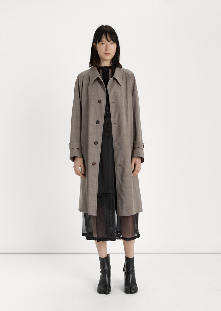 Wool Gauze Coat