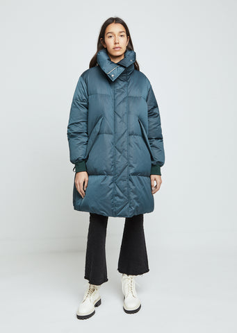 Puffed Nylon Coat