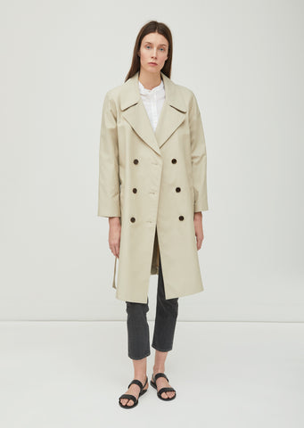Lucile Cotton Nylon Trench Coat