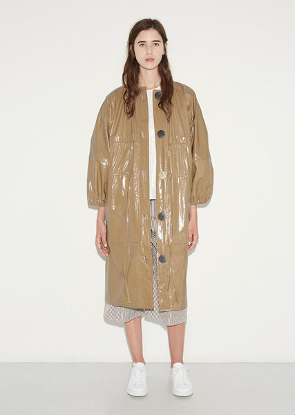 PORTS 1961 Oversized Slicker Jacket La Garconne