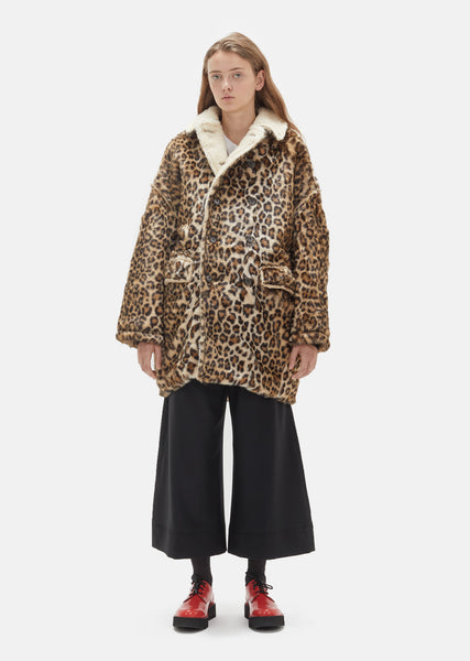 Leopard Hunting Coat