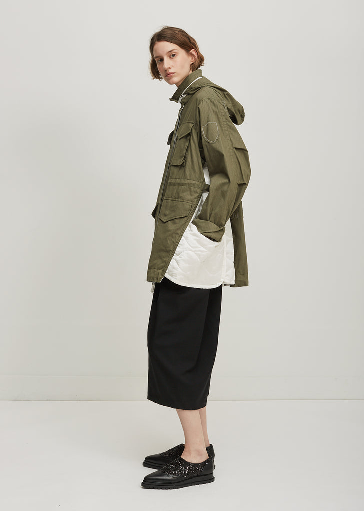 Cotton Hemp Parka