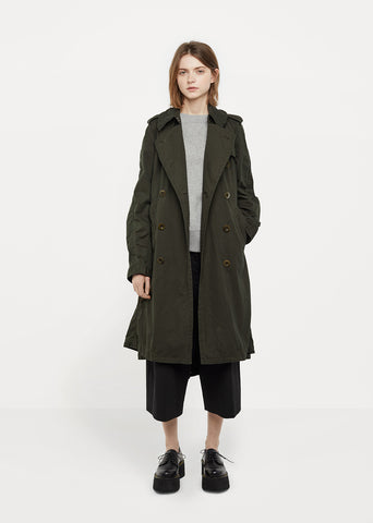 Overdyed Trench Coat