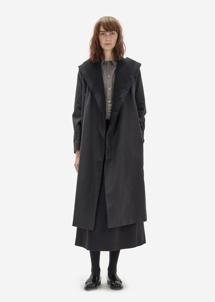 Omega Cotton Hooded Coat
