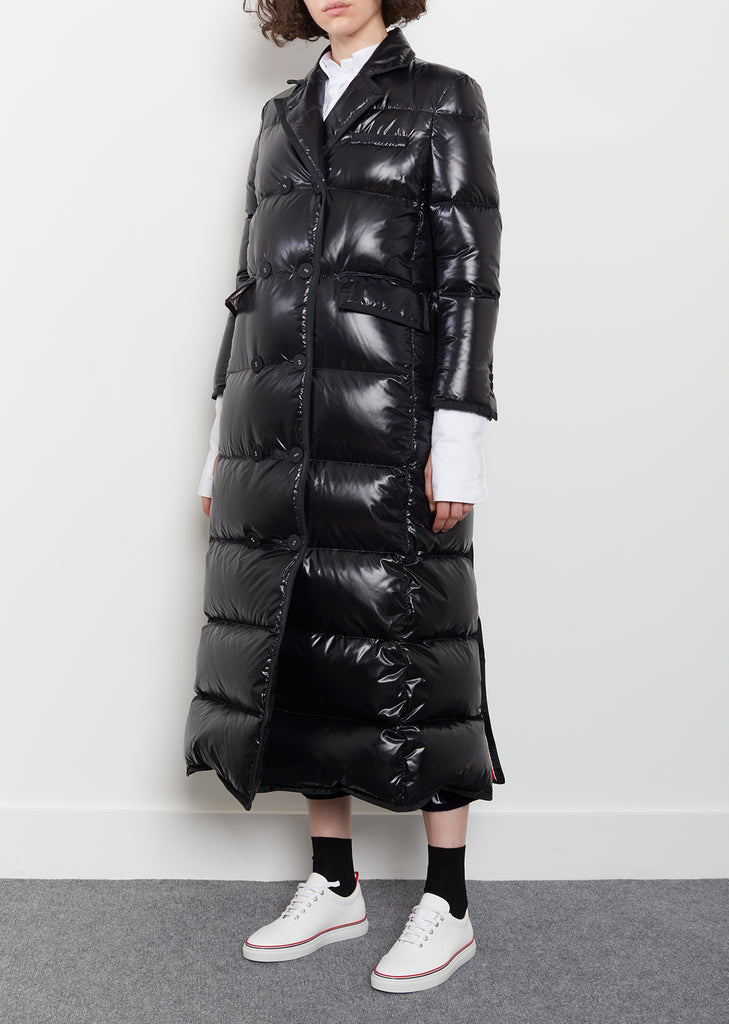 Down-Filled Double-Breasted Puffer Coat
