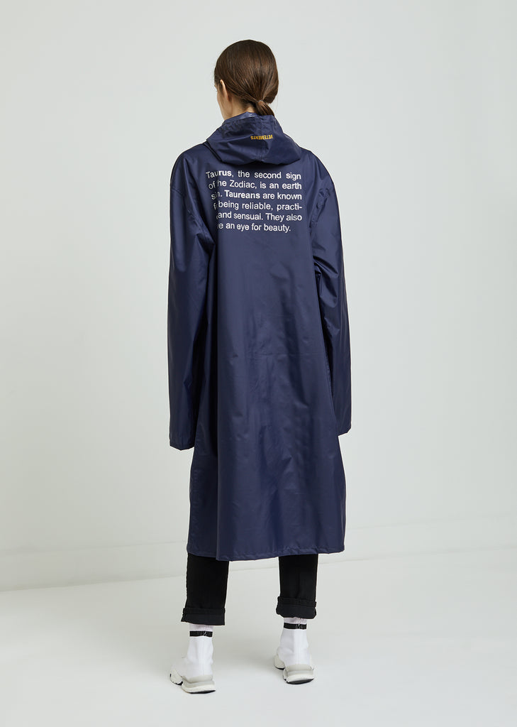 Taurus Horoscope Raincoat