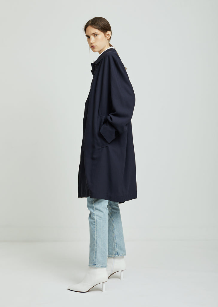 Open Back Carcoat