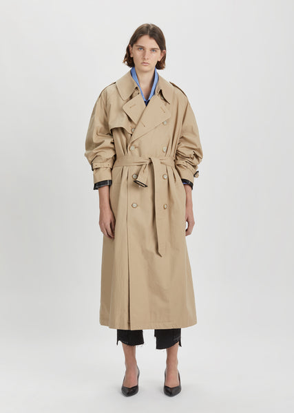 X Mackintosh Open Back Trench Coat