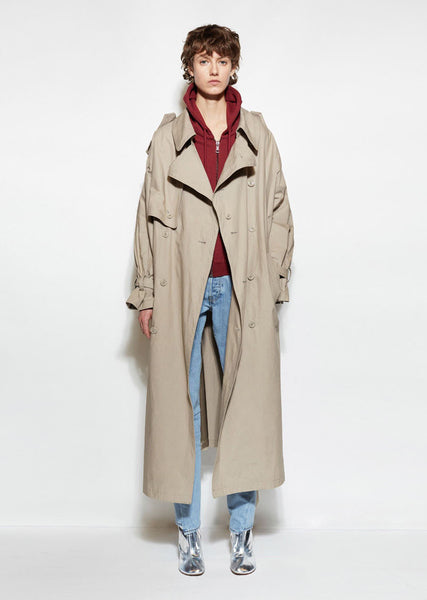 Vetements Oversized Trench La Garconne