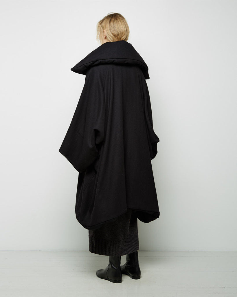 Oversized Blouson Coat