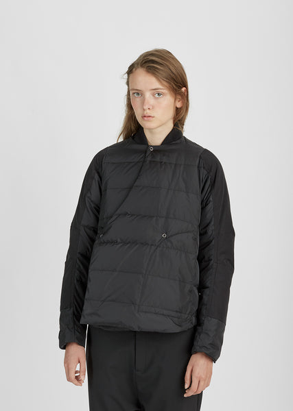 Down-Filled Quilted Jacket