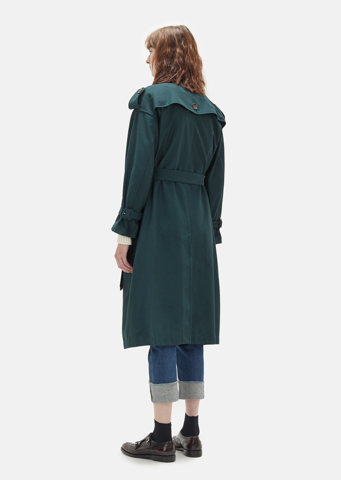 Voile Karsey Trench Coat