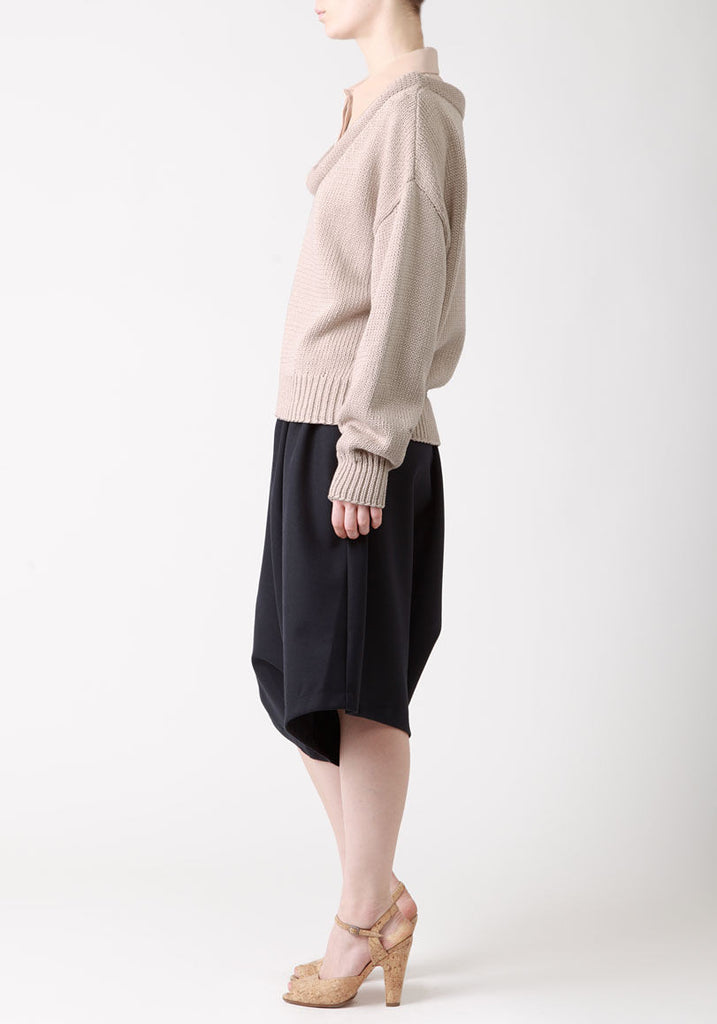 Silk Crepe Collar