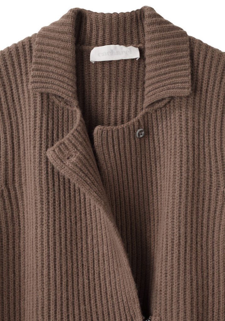 Zipped Sweater Coat