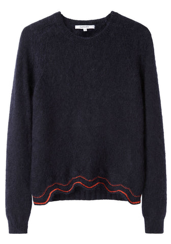 Cut-Out Mohair Knit
