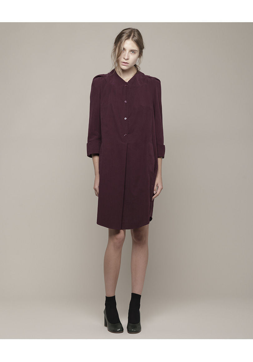 Dress with Stitch Collar